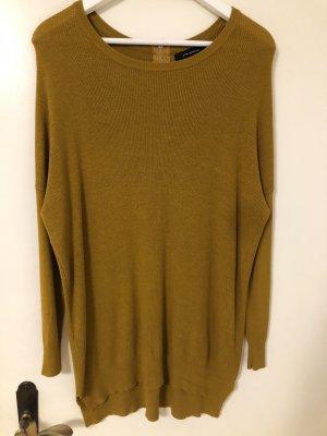 Senfgelber Pullover, 38-40