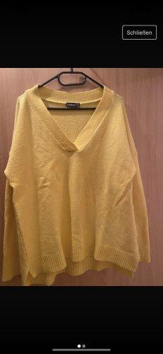 Kik V-Neck Sweater gold orange