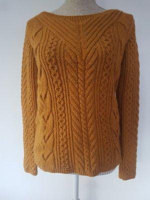Senfgelber Pullover von Promod