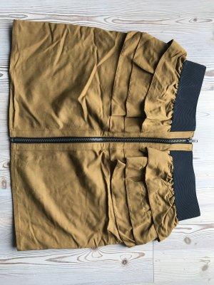 Review Warstwowa spódnica złotopomarańczowy