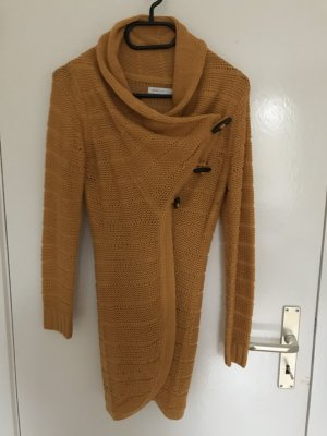 Only Knitted Cardigan dark yellow