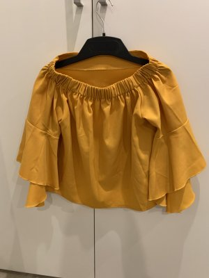 Sheinside Camisa tipo Carmen multicolor