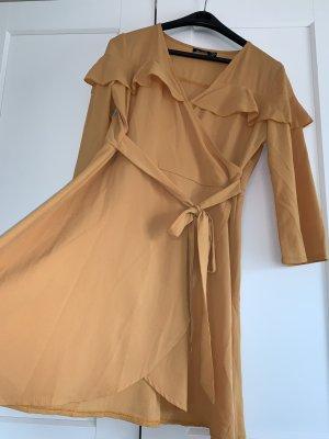Bohoo Mini-jurk licht Oranje