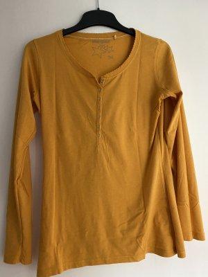 Manguun Long Shirt pale yellow-sand brown