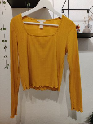 Caution to the wind Lang shirt goud Oranje