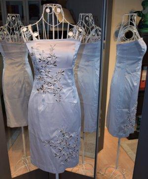 Senna Tube Dress * Bestickt * Vero Moda * Silber * Gr. 36