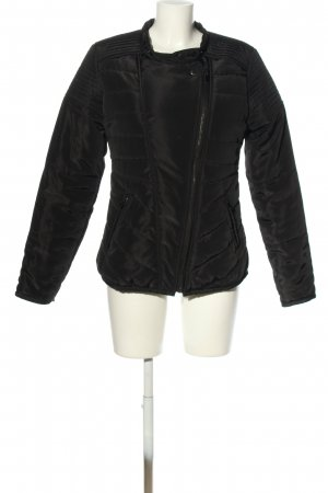 Sensation Winterjacke schwarz Steppmuster Casual-Look