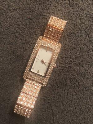 Senso di Donna Reloj analógico color rosa dorado