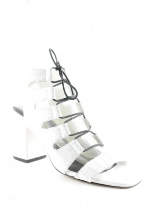 Senso High-Heeled Toe-Post Sandals white street-fashion look