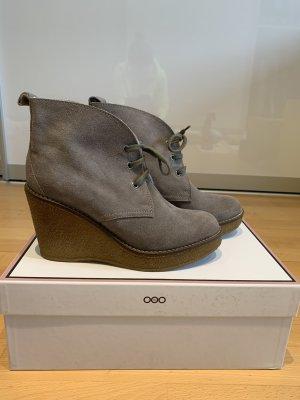 Serafini Botas de cuña gris