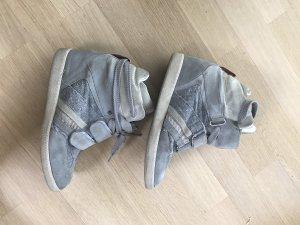 Serafini Sneaker con zeppa multicolore