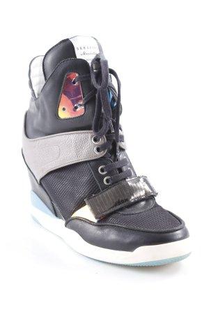 Serafini Wedge Sneaker mehrfarbig Holografie-Optik