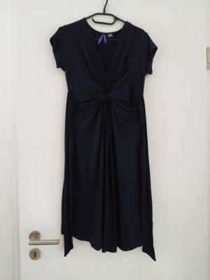 Seraphine Empire Dress dark blue