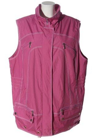 Serena Malin Chaleco deportivo rosa look casual