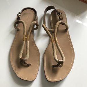 Sergio Rossi Toe-Post sandals light brown