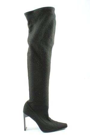 Sergio Rossi Wysokie buty na obcasie czarny W stylu casual