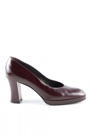 Sergio Rossi High Heels lila Business-Look