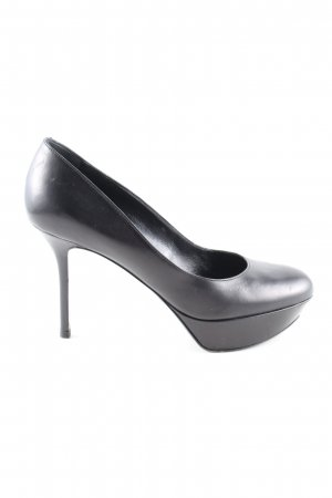 Sergio Rossi High Heels schwarz Business-Look