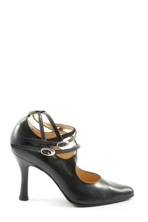 Sergio Rossi High Heels schwarz Casual-Look
