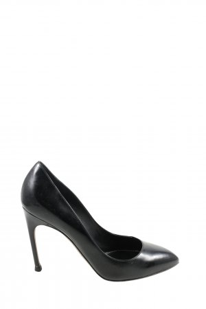 Sergio Rossi High Heels schwarz Casual-Look