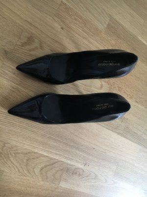 Sergio Rossi Lackleder Pumps