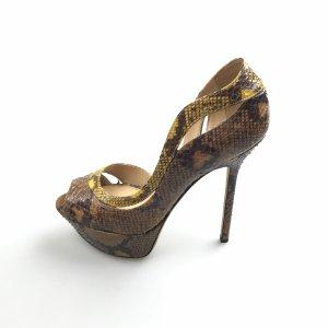 Sergio Rossi Python Stilettos