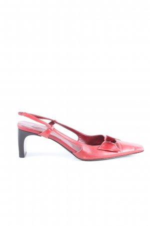 Sergio Rossi Slingback-Pumps pink Casual-Look