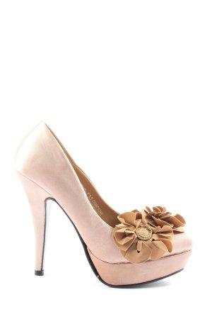 Sergio Todzi High Heels pink-braun Elegant