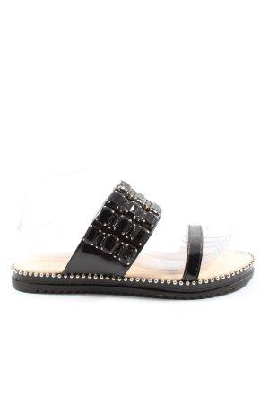 Sergio Todzi Comfortabele sandalen zwart casual uitstraling