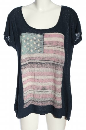 Serious sally Print Shirt themed print casual look