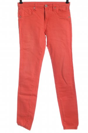 Serious sally Tube Jeans red casual look