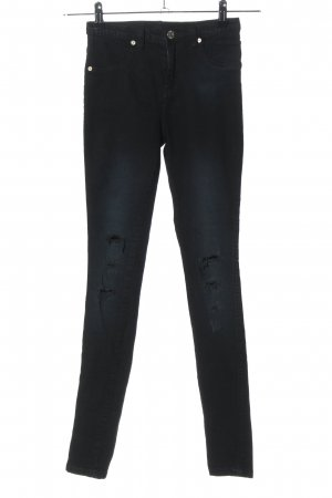 Serious sally Skinny Jeans black casual look