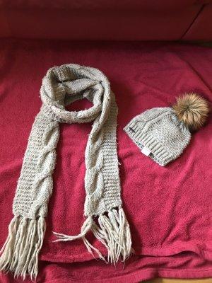 Seeberger Crochet Cap grey