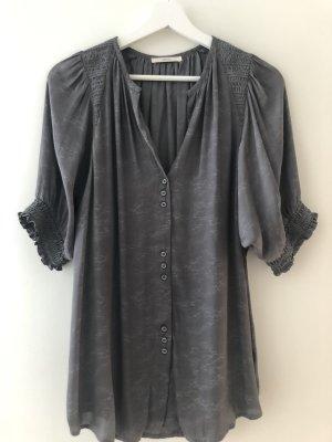 Sessun Blusa de manga corta gris