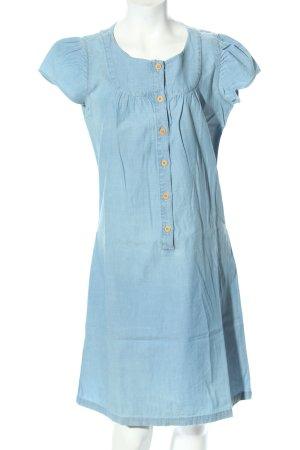 Sessun Hemdblusenkleid blau Casual-Look