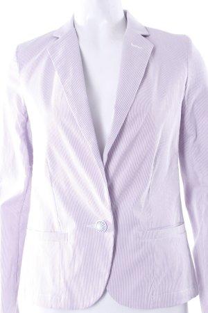 Sessun Kord-Blazer lila weiß