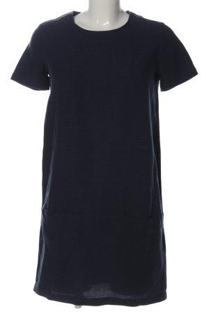 Sessun Vestido de manga corta azul look casual