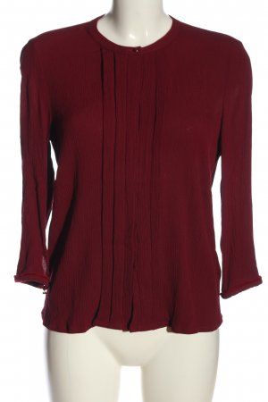 Sessun Langarm-Bluse rot Business-Look