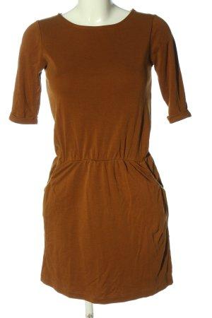 Sessun Robe en jersey brun style décontracté