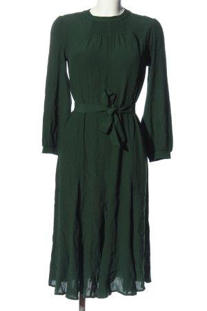 Sessun Vestido de manga larga verde estilo «business»