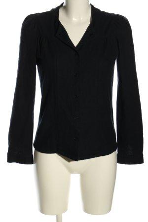 Sessun Linen Blouse black casual look