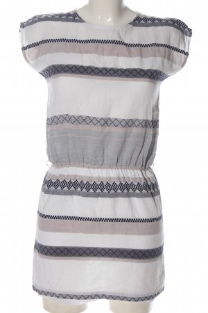 Sessun Mini vestido estampado gráfico look casual