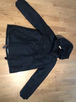 Sessun Cappotto con cappuccio nero