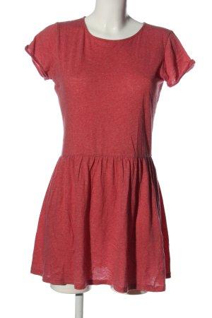 Sessun Mini vestido rojo look casual