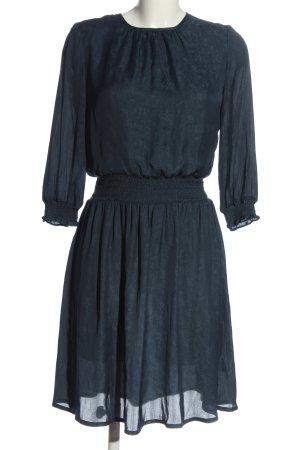 Sessun Minikleid blau Allover-Druck Elegant