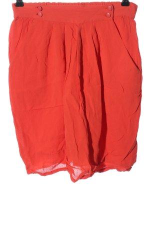 Sessun Minifalda rojo look casual