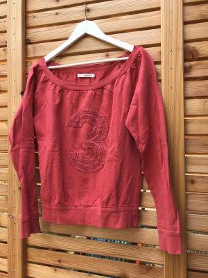 Sessun Jersey holgados rojo frambuesa-magenta