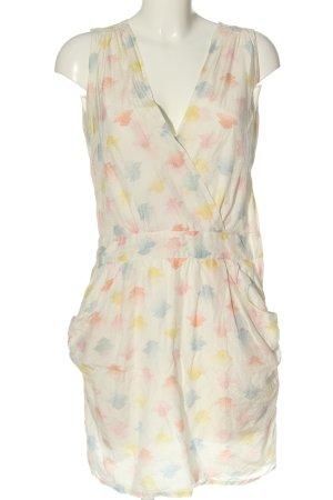 Sessun Vestido de Verano estampado con diseño abstracto look casual