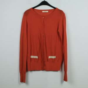Sessun Strickjacke Gr. M orange (19/11/322)