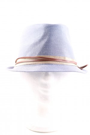 Sessun Trilby blue-natural white flecked casual look